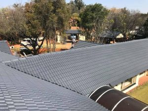 Tile roof waterproofing