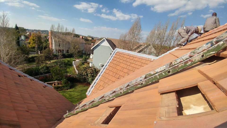 How to do Waterproofing on a high pitch tile roof