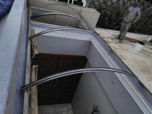 Preparing of concrete roof  for waterproofing