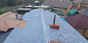 Waterproofing tile roof