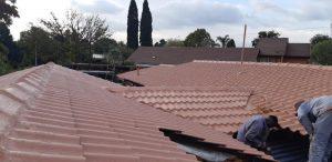 Roof repairs, waterproofing and painting tile roof